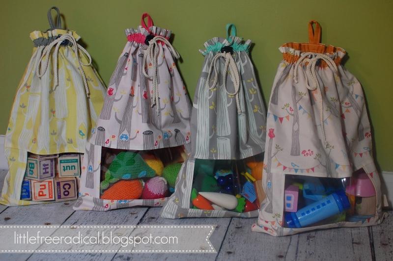 Remarkable DIY Drawstring Sacks For Toy Storage (via littlefreeradical ) 800 x 532 · 167 kB · jpeg
