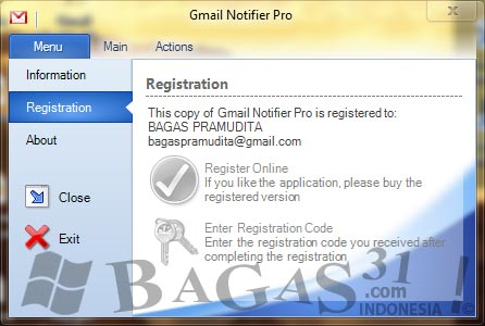 Gmail Notifier Pro 3.3 Full Keygen 3