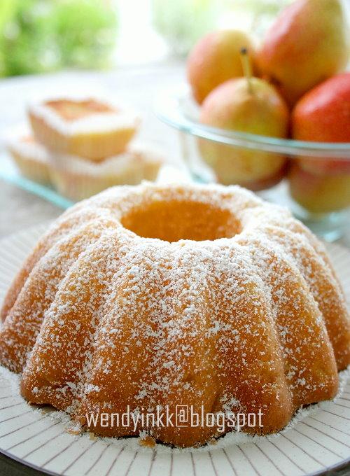 Pear Pound Cake Recipe