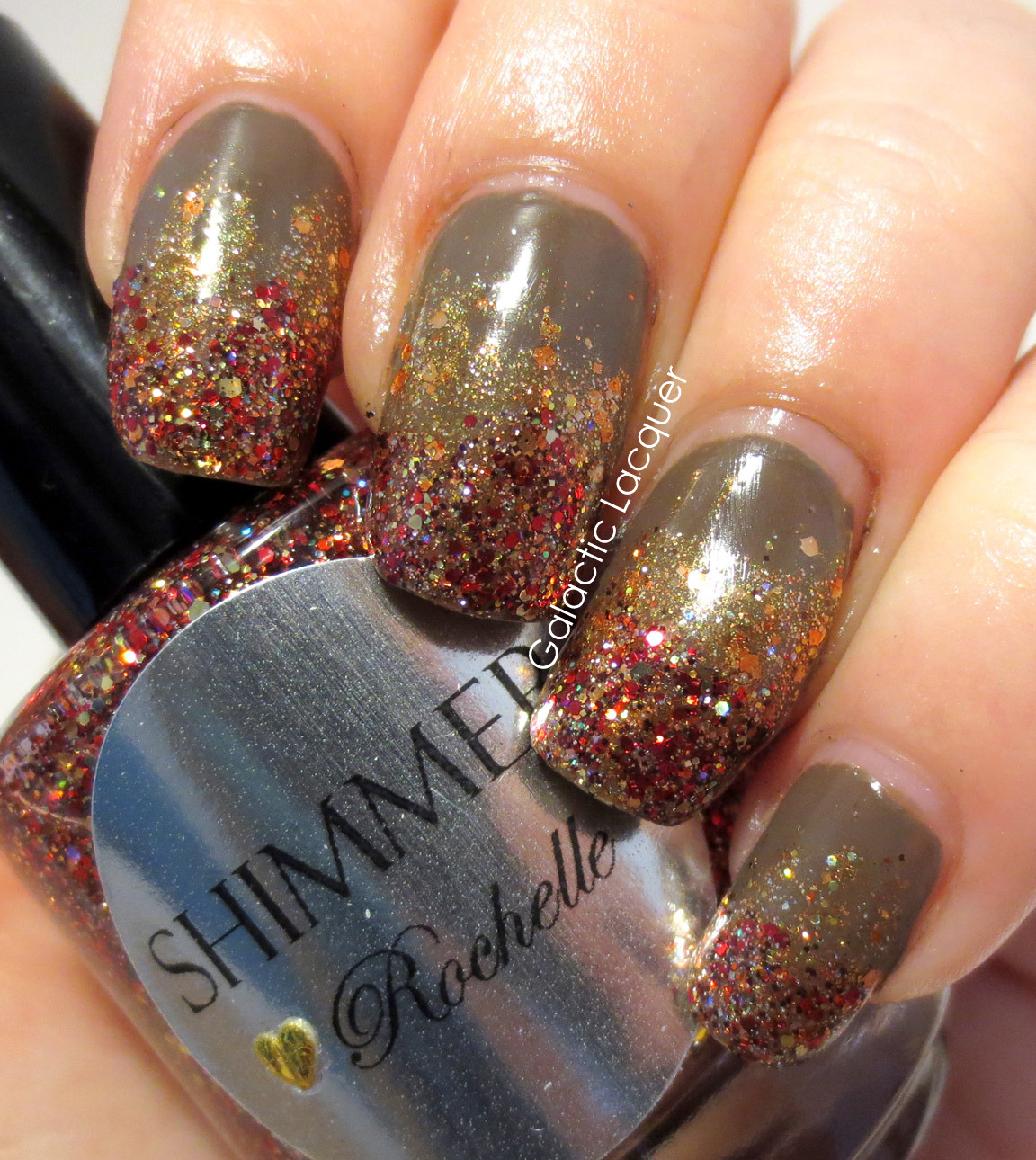 Galactic Lacquer: Falling Forward Nail Art Challenge - Fall Gradient ...