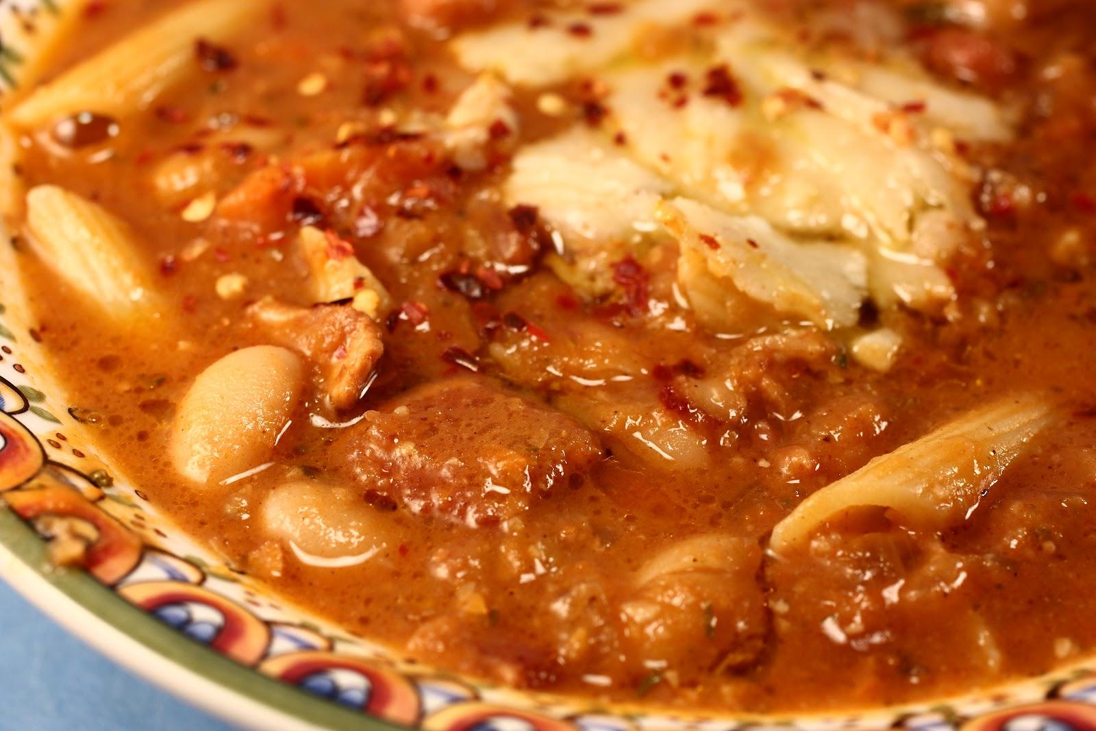 Chef Chuck's Cucina: Chef Chuck's Pasta e Fagioli