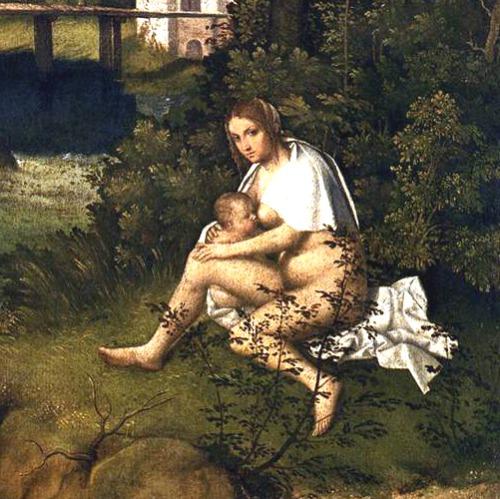la tempesta di giorgione. experienced in Giorgione#39;s