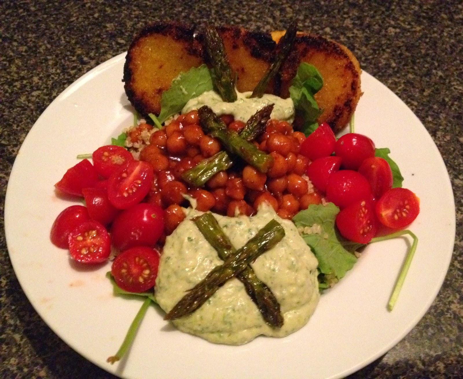 gluten free vegan veggie bowl