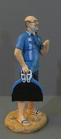 statuina personalizzata realistica allenatore monopinna apnea orme magiche
