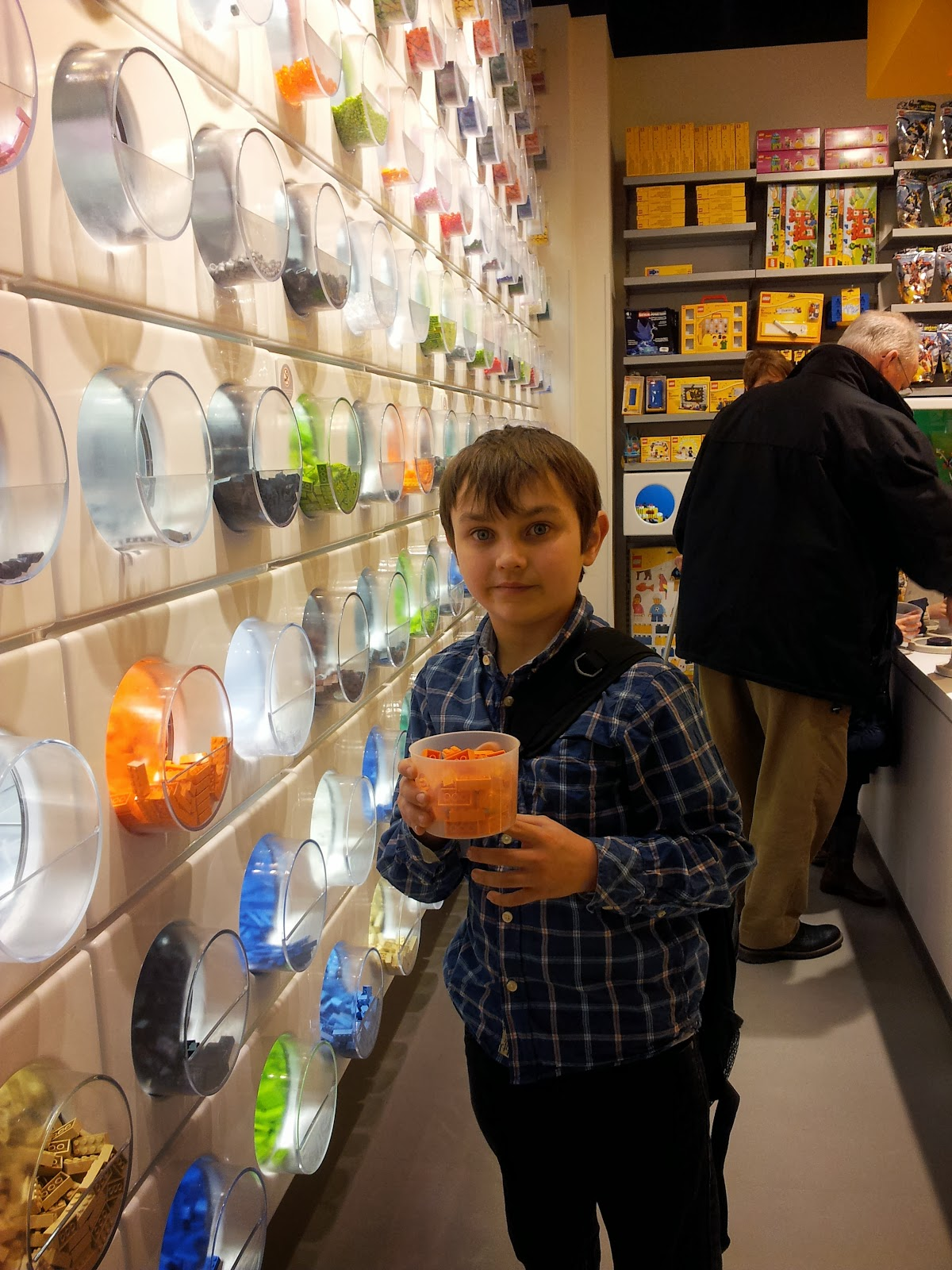 Cardiff Half Term St Davids Centre Wales Lego Stores Pick n Mix