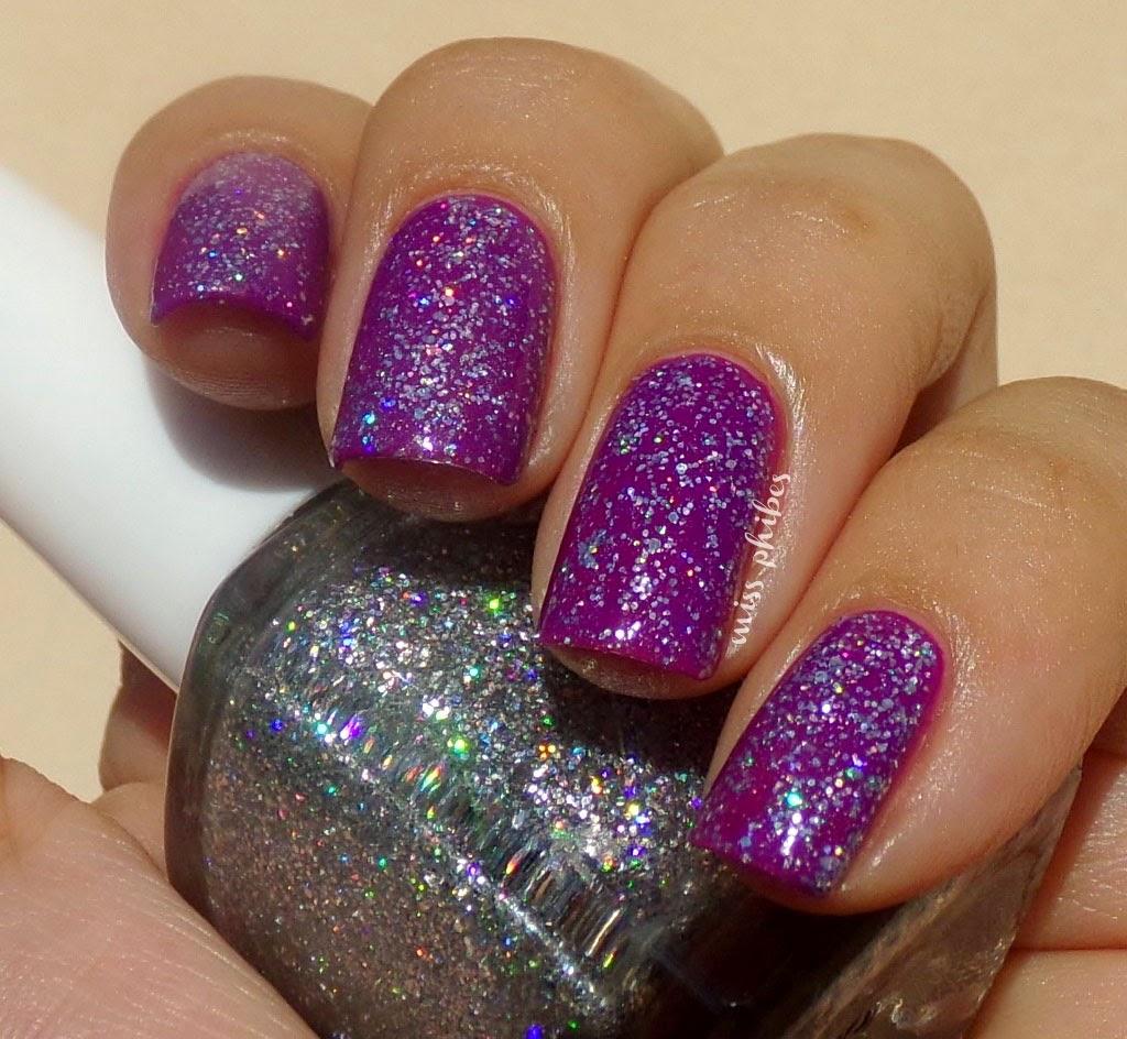 Franken DIY Nail polish + Esmalte de uñas casero