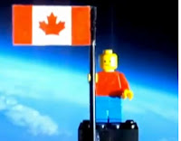1st lego man in space