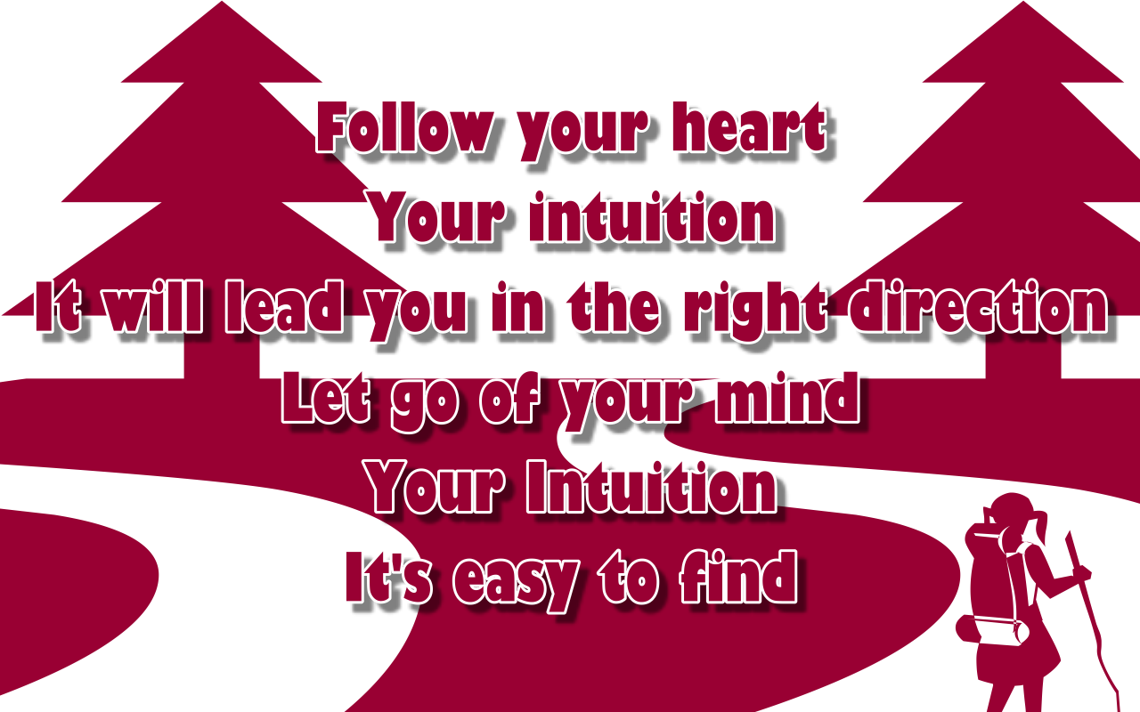 Song Lyric Quotes In Text Image: Intuition - Jewel Song Quote Image