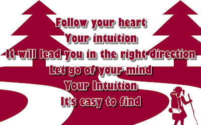 Intuition - Jewel Song Lyric Quote in Text Image