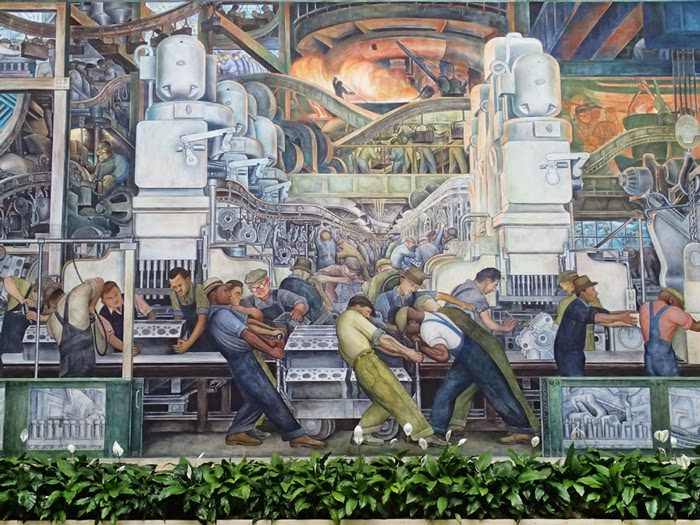 Arts without borders can art save detroit for Diego rivera mural dia