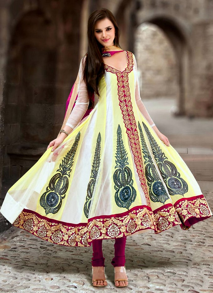 New Anarkali Suits | Indian Anarkali Fashion 2013-2014