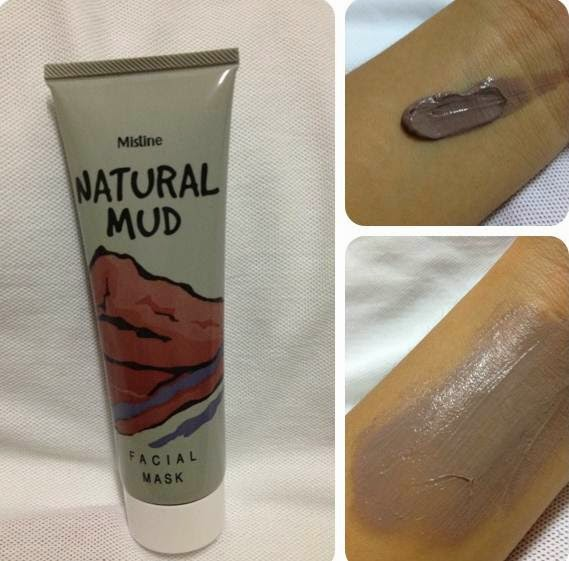 mistine natural mud mask