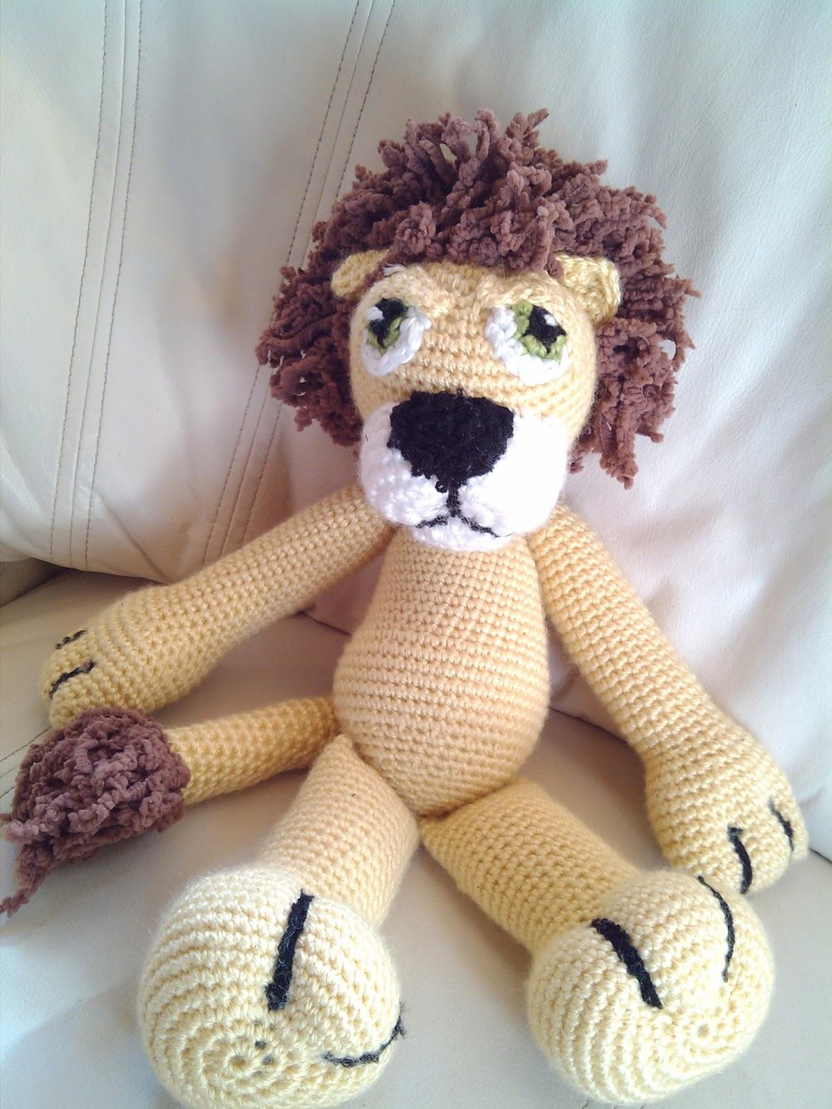 Su Crochet: Amigurumi leon