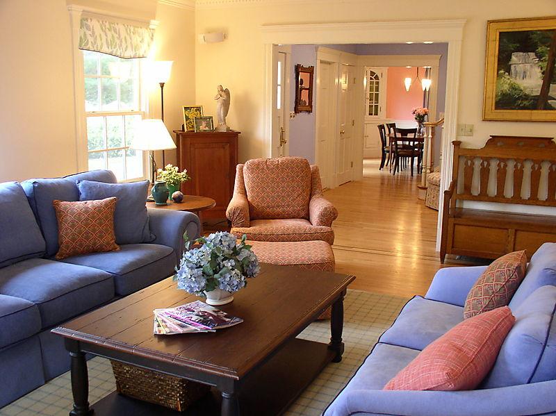Modern blue interior designs living room interior home for Interior design living room blue