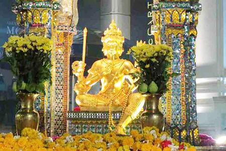 Patung Buddha 4 Wajah, Surabaya
