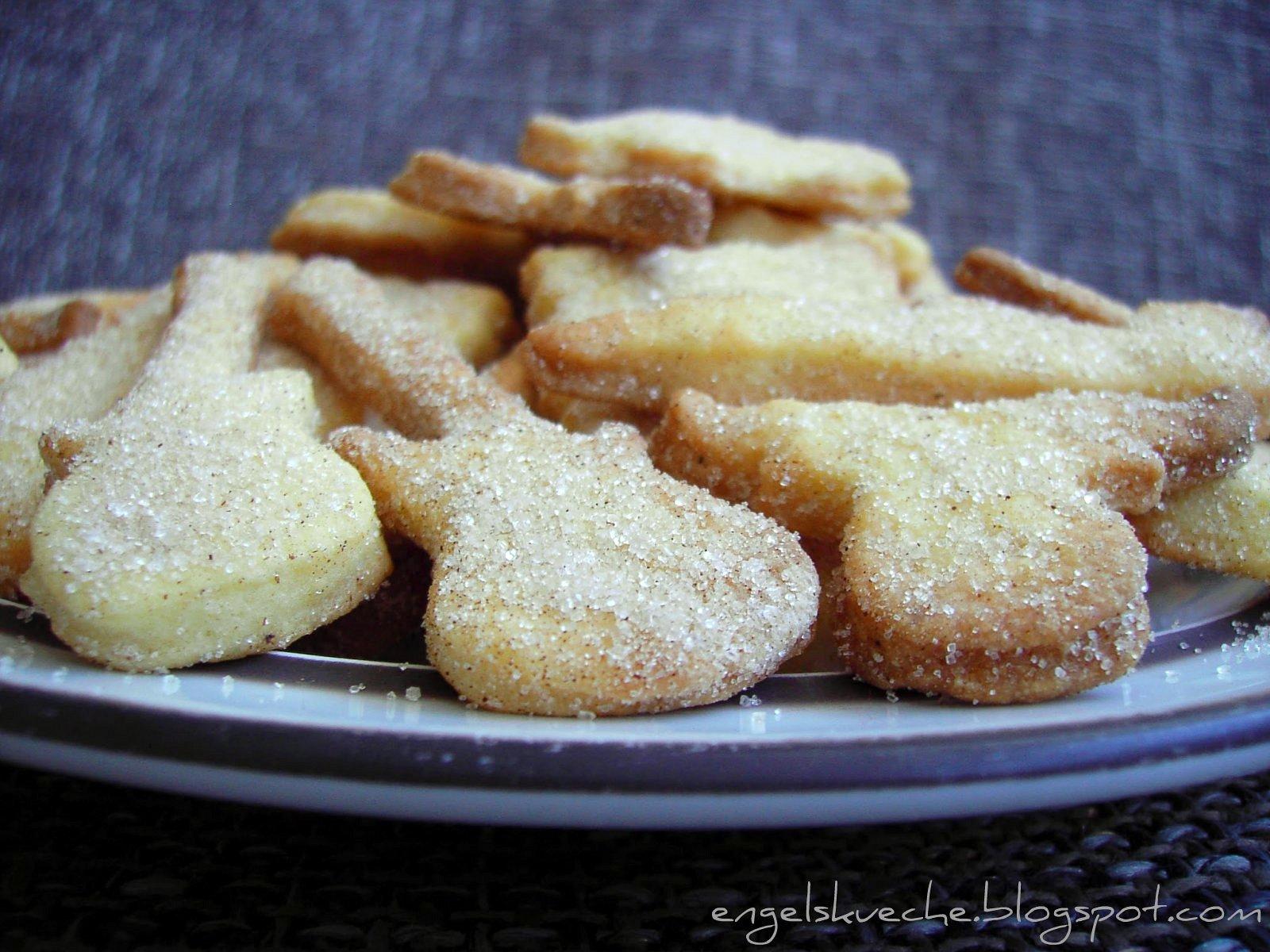 Essen Aus Engelchens K Che Butterpl Tzchen Im Zimt Zucker