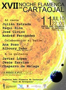XVII Noche Flamenca Cartaojal