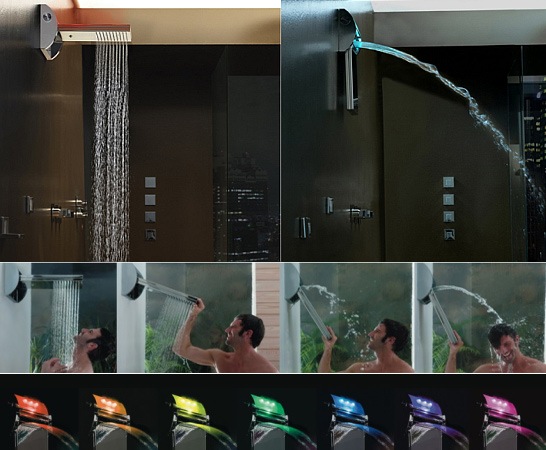 Music Stand Designs : Cool showers and modern shower head designs part