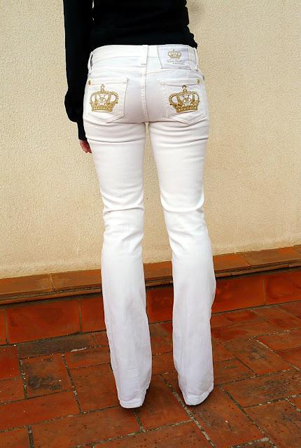 parte trasera tejanos Victoria Beckham