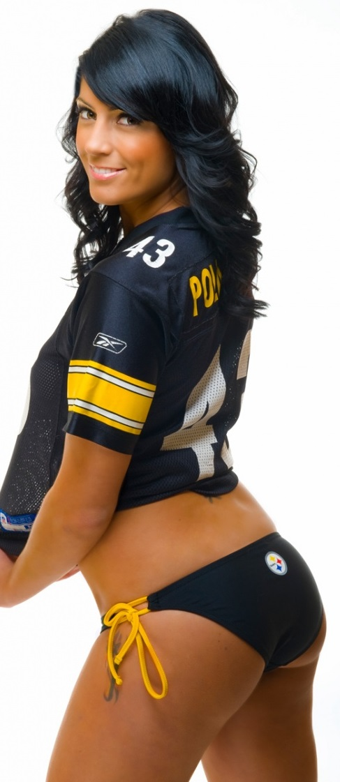 Beauty Babes 2013 Pittsburg Steelers Nfl Season Sexy Babe