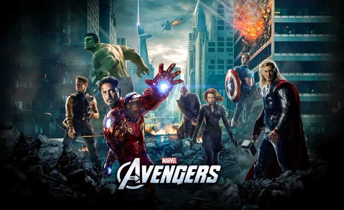 HD desktop Marvel's The Avengers wallpaper