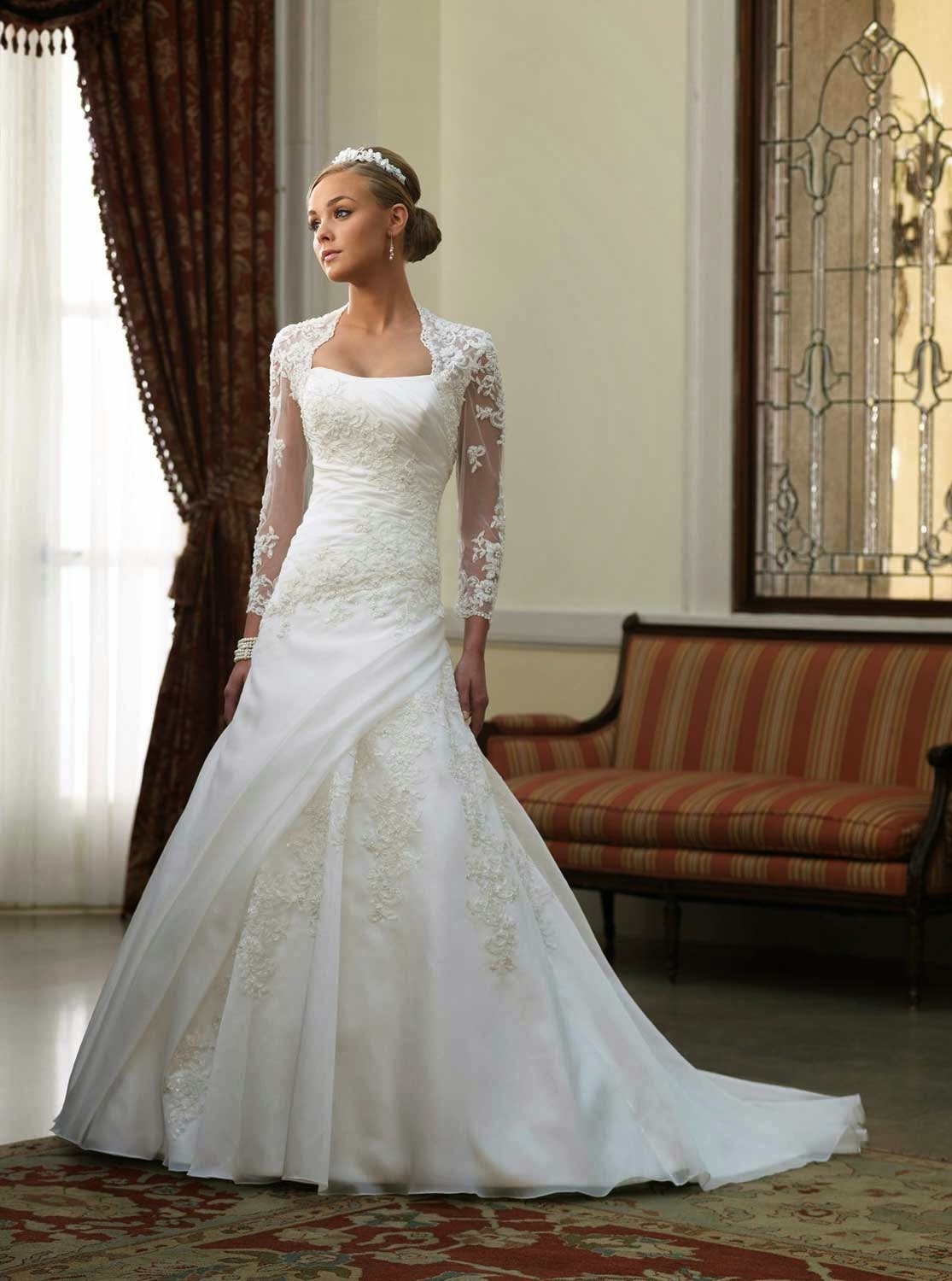 Lace Ball Gown Wedding Dresses Ideas Photos