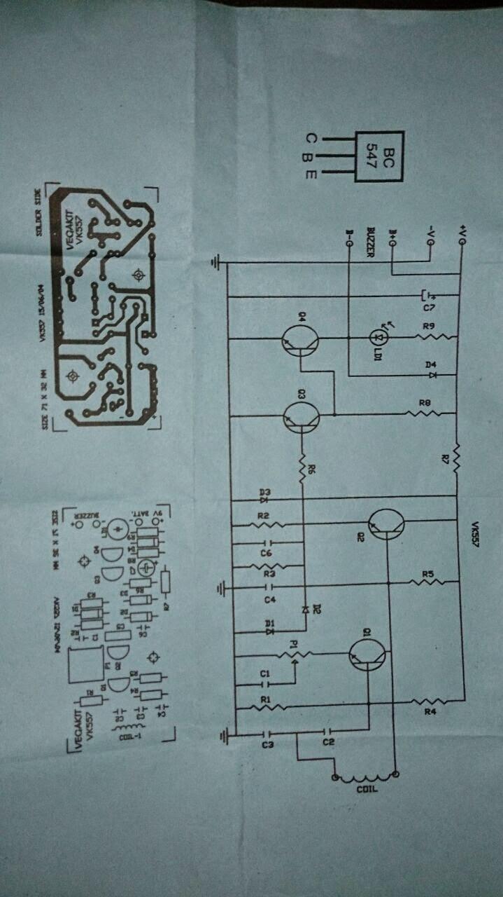 Nokta Metal Detector Circuit Diagram Trusted Wiring Diagrams Gold Long Vlf Schematic Bounty Hunter Detectors