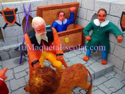 muñecos en ceramica fria