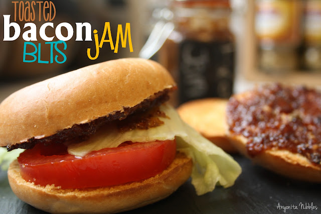 bacon jam, pinterest recipes, bagels, blts