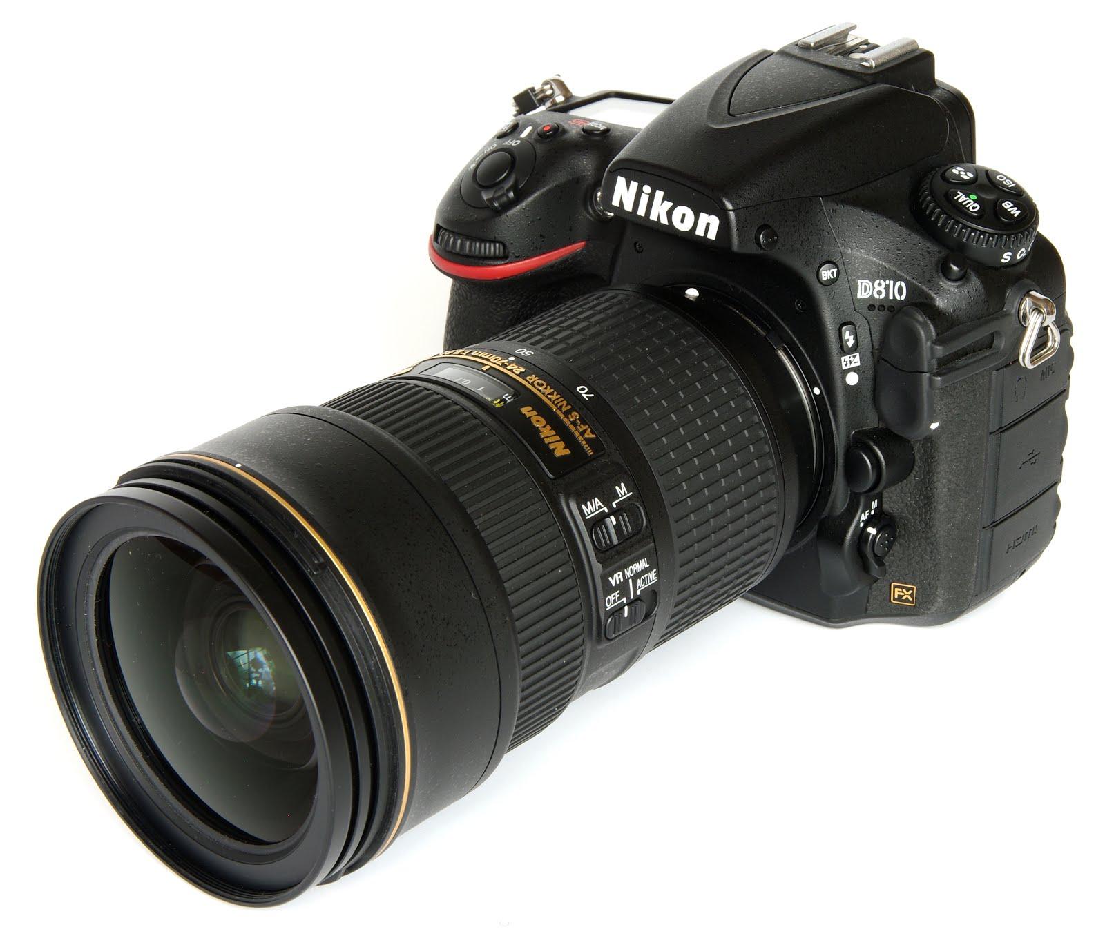 Nikon D810 in Nikon AF-S Nikkor 24-70mm f/2.8G VR Lens
