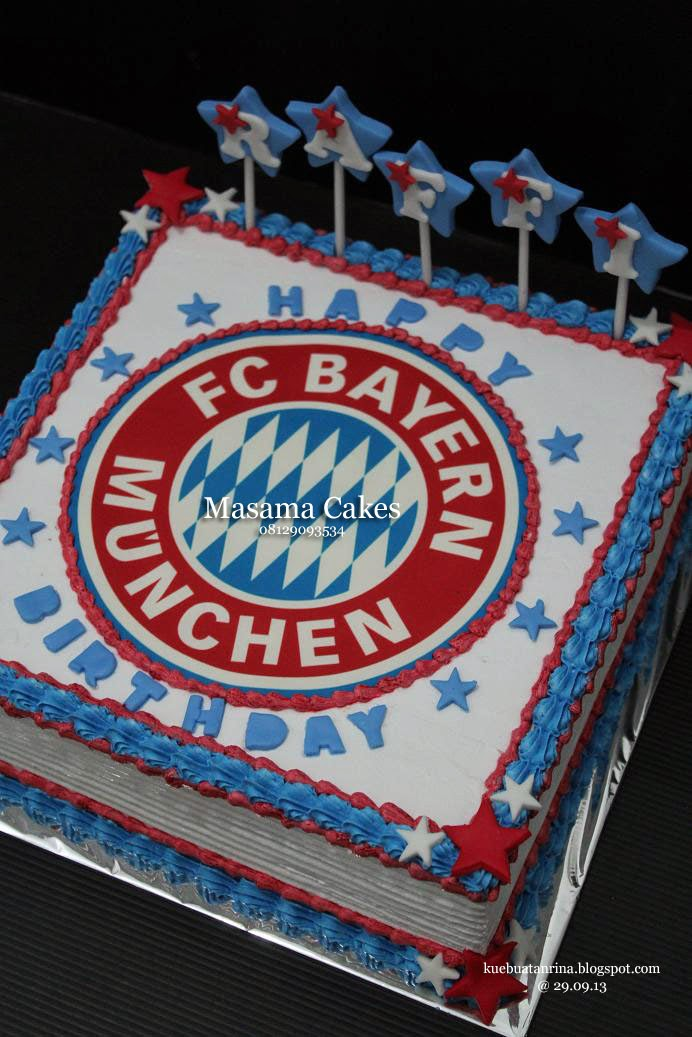Masama Cakes Bayern Munchen Themed Birthday Cake For Raffi