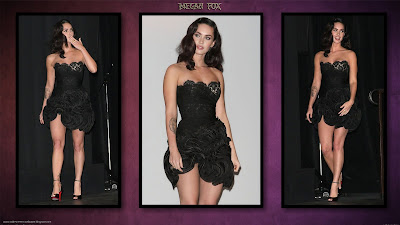 Megan Fox Dark Purple Wallpapers