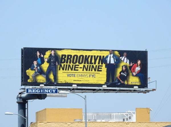 Brooklyn Nine-Nine 2015 Emmy Billboard