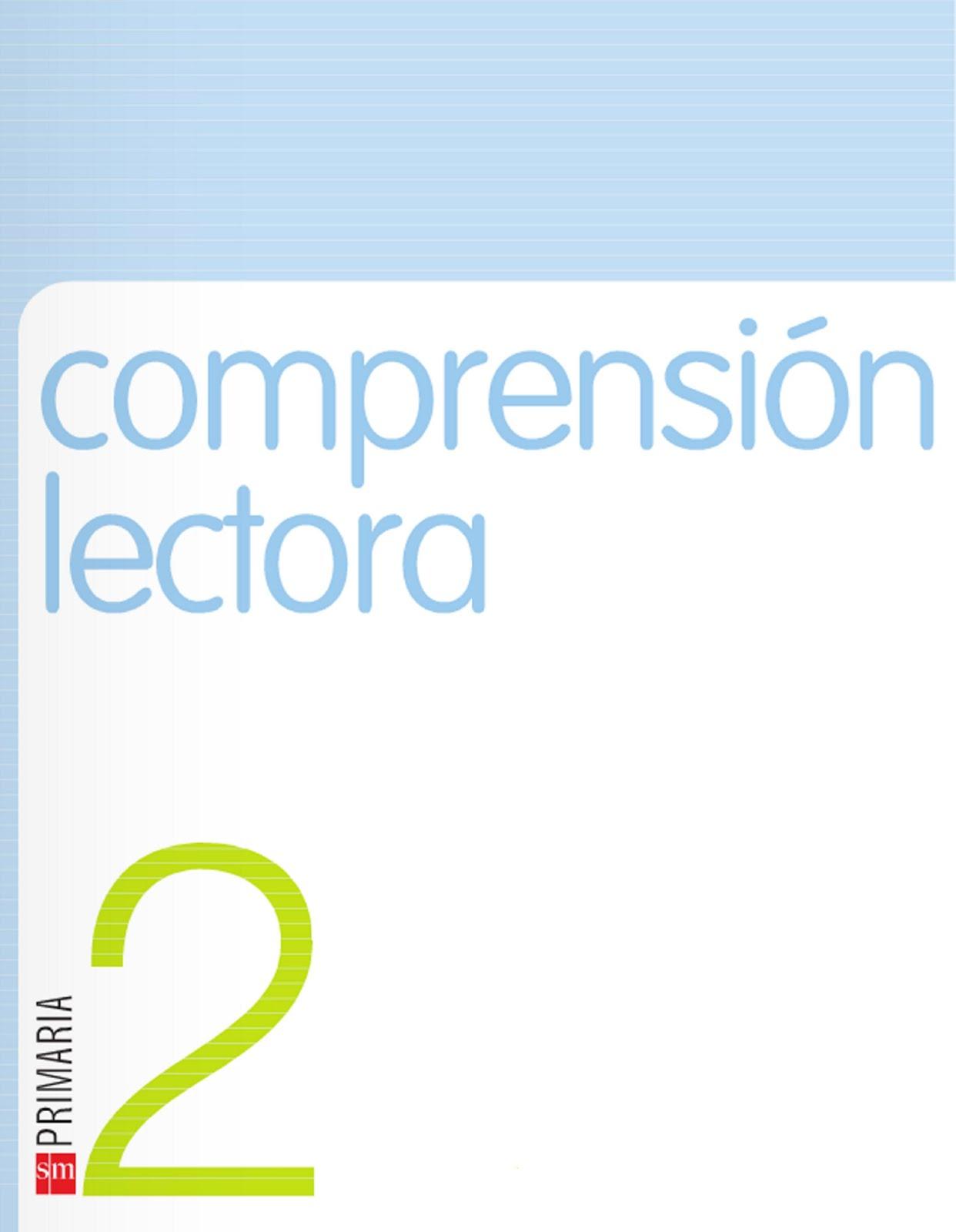 COMPRENSIÓN LECTORA SM
