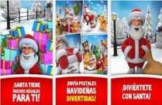Talking Santa: Papá Noel hablador, para enviar mensajes hablados de navidad en iOS y Android