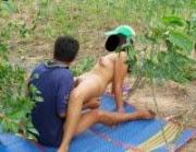 Foto Ngentot Pasangan ABG Dikebun