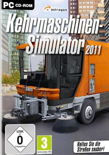 Kehrmaschinen Simulator 2011[Temizlik Arabası Simulasyonu]Full