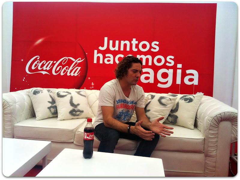 David Bisbal Coca Cola Navidad Peru