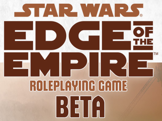 Star Wars Edge of the Empire Beta