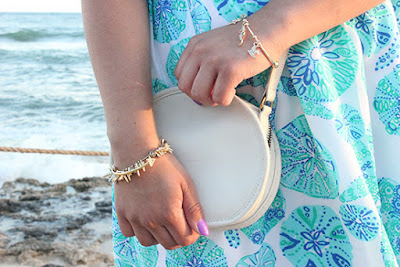 Lilly for Target Bracelet and White Coach Cross Body