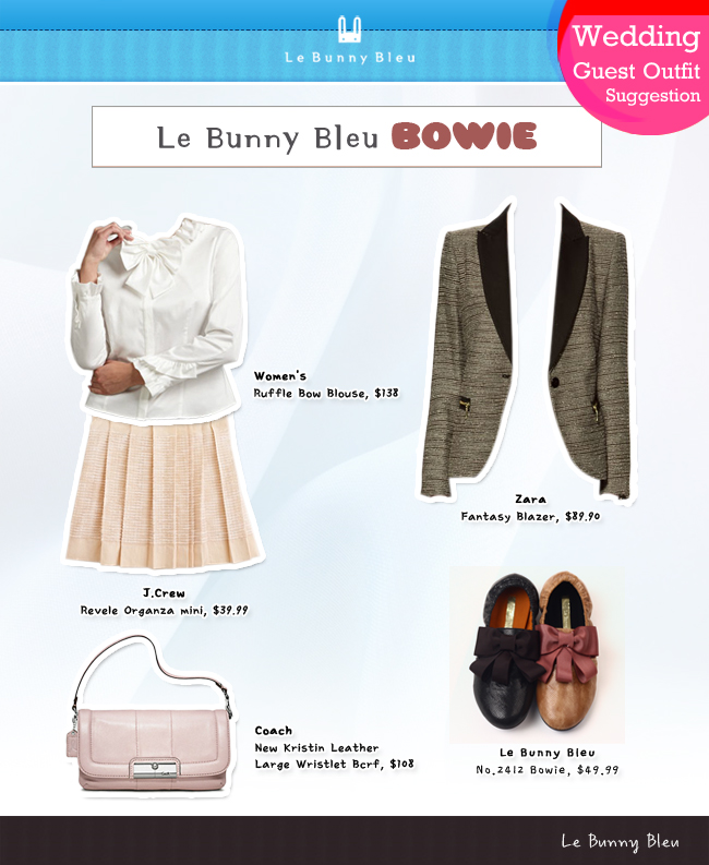 Le Bunny Bleu Wedding Guest Outfit Suggestion Bowie