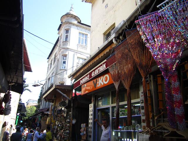 Street scene in Istanbul, Turkey.