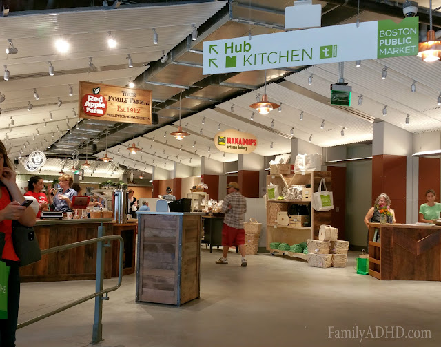 Boston Public Market indoor farmer's market open in Boston Blogger Tour