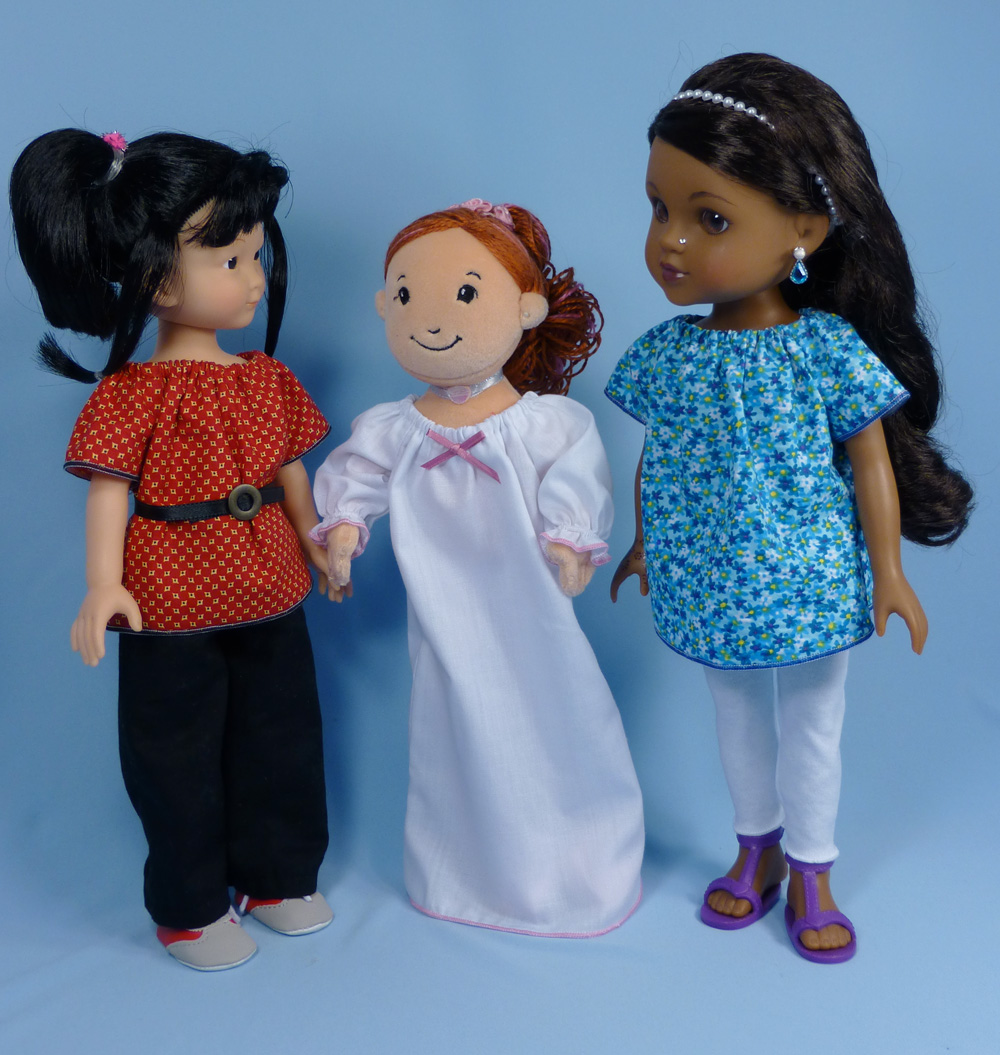 Hearts for Hearts Girls, Les Cheries, Groovy Girls dolls Sewing ...