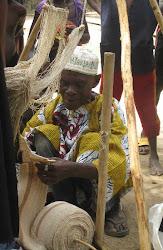 Weaver in Sierra Leone