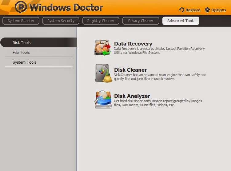 Windows Doctor 2 Screenshot