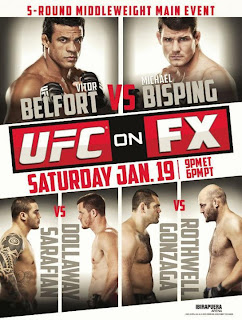 UFX UFC on FX 7 Belfort vs. Bisping   DSR AVI + RMVB