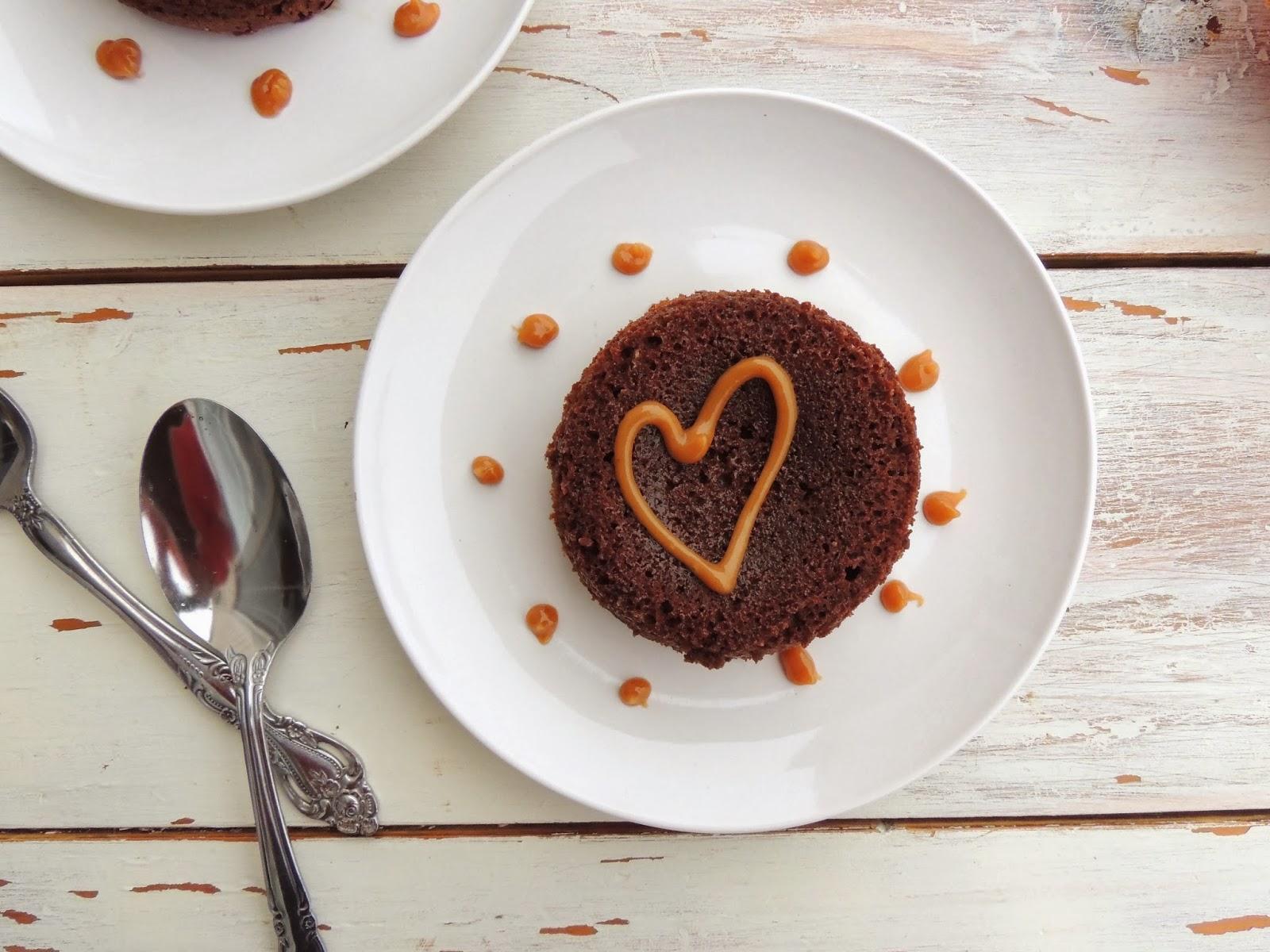 Spoons Cake Romantic Dessert