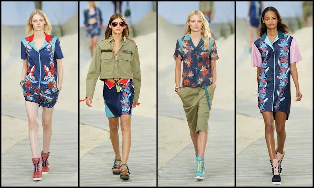 Tommy Hilfiger  Presentó Colección Mujer Primavera 2014 en Semana de la Moda de Nueva York