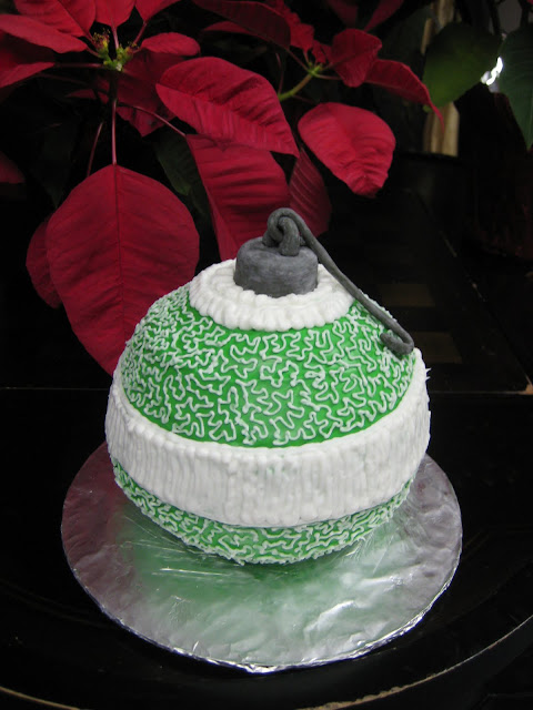Christmas Ornament Cake 1